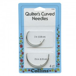 QUILTER'S CURVED NEEDLES
